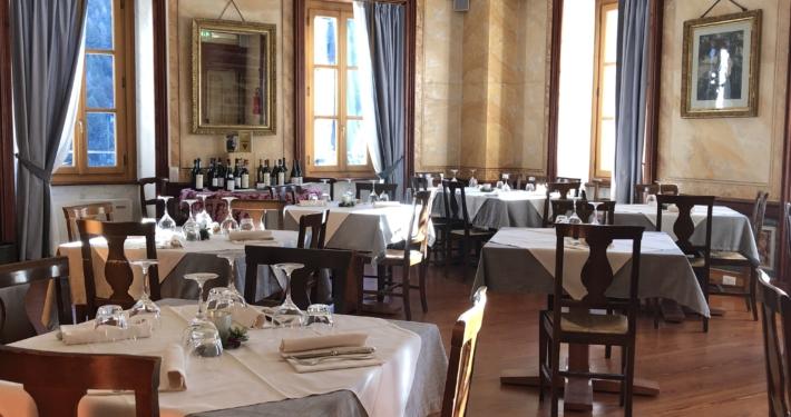Sala ristorante Ca' di Janzo
