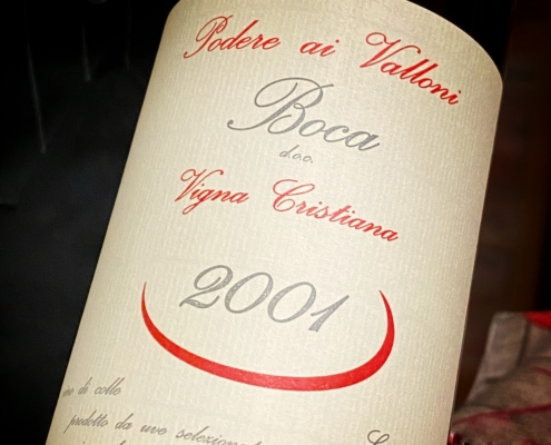 Vini locali - Boca 2001